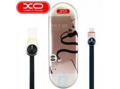 USB кабель XO NB19 Type-C 0.2m черный