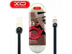 USB кабель XO NB20 lightning 1m черный
