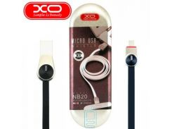 USB кабель XO NB20 micro USB 1m черный