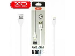 USB кабель XO NB8 lightning 1m белый
