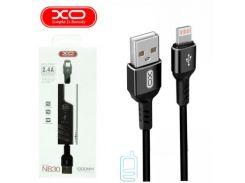 Кабель USB - Lightning XO NB30 1m черный