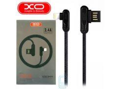 Кабель USB - Lightning XO NB28 1m черный