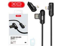Кабель USB - Lightning XO NB38 1m черный
