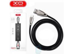 Кабель USB - Micro XO NB25 1m черный