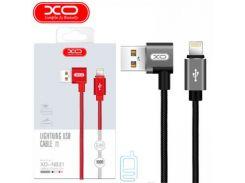 Кабель USB - Lightning XO NB31 1m черный