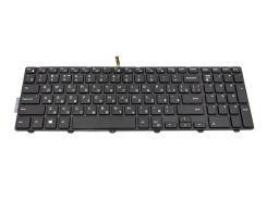 Клавиатура для ноутбука DELL Inspiron 3541, 5542 подсветка клавиш, черный