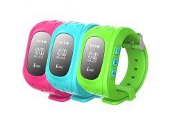 Детские умные GPS часы Smart Baby Watch Q50 с трекером отслеживания (зеленые). РУССКАЯ ВЕРСИЯ