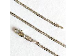 Цепочка плетение Панцирное родий 50 см.