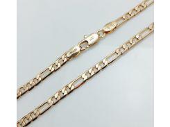 Цепочка, плетение Картье. длина 55 см ширина 0.4 Ювелирная бижутерия Fallon