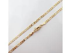 Цепочка плетение Картье 45 см. ширина 3 мм