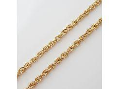 Цепочка плетение Ручеек 45 см. ширина 3 мм