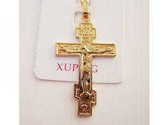 Крест с распятием на цепочку