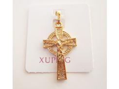 Крест с распятием средний