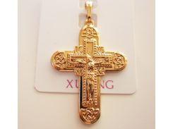 Крестик православный, позолота 18К