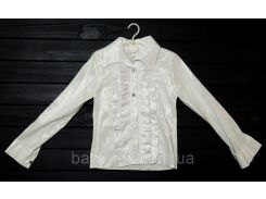 Блузка белая 30-36 р.