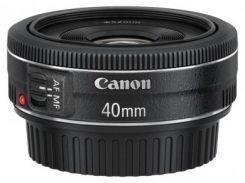 Широкоугольный объектив Canon EF 40mm f/2.8 STM