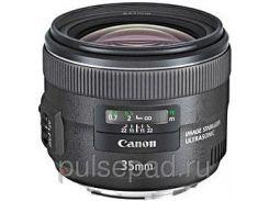 Широкоугольный объектив Canon EF 35mm f/2 IS USM