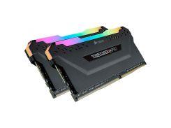Память Corsair 16 GB (2x8GB) DDR4 3600 MHz Vengeance RGB Pro Black (CMW16GX4M2C3600C18)