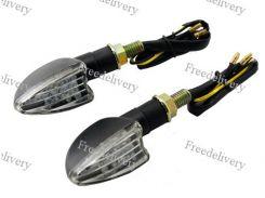 LED указатели поворота, поворотники для мотоцикла