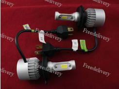Лампы светодиодные автомобильные Partol H4 P43T 12В 72Вт 8000лм