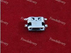 MicroUSB разъем гнездо 5pin MC-135 Lenovo A708T S890 Huawei G7 7040N
