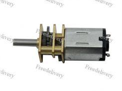 Мотор редуктор микро моторчик 12GAN20 200об/мин 6В