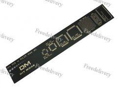 PCB Ruler линейка шаблон для электронщика радиолюбителя 15см