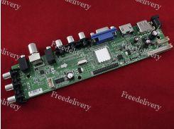 Универсальный контроллер ЖК матриц, скалер 3663, DVB-T2