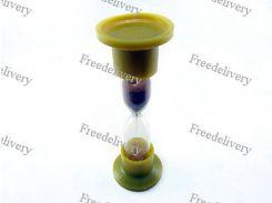 Песочные часы стекло 12.5х4см 3 минуты