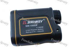 Дальномер лазерный ПРО + измеритель скорости SNDWAY SW-1000A 1000м