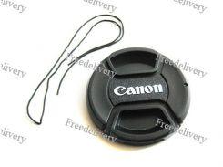 Крышка Canon диаметр 49мм, со шнурком, на объектив