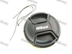 Крышка Nikon диаметр 77мм, со шнурком, на объектив