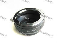 Адаптер переходник Nikon AI - Nikon 1 J1, кольцо