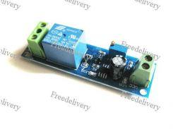 Реле с настраиваемой задержкой, 12V, для Arduino