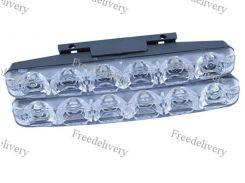 Дневные ходовые огни, 2x12 Вт, DRL LED в корпусе