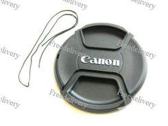 Крышка Canon диаметр 82мм, со шнурком, на объектив