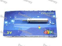 Аккумулятор CR425 3В для светящихся LED поплавков, перезаряжаемая батарейка