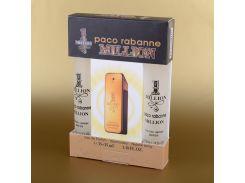 Мужская парфюмерия Paco Rabanne 1 Million в подарочной упаковке 2х35 мл (реплика)
