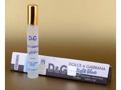 Туалетная вода с феромонами Light Blue pour Homme Dolce&Gabbana 20ml (в треугольнике) (реплика)