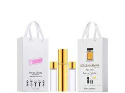 Мужской The One Dolce&Gabbana мини парфюмерия в подарочной упаковке 3х15ml  (реплика)