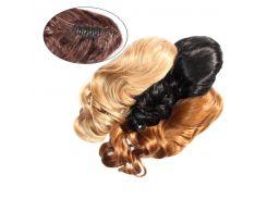 Шиньон из искусственных волос на заколках Легкий завиток 50 см Lady Victory 100г LDV SHS-CCL /51-41