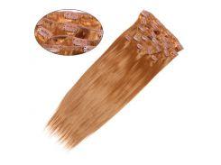 Искусственные волосы трессы на клипсах Гладкий шелк 50 см Lady Victory 100г LDV SHC-CS /55-31