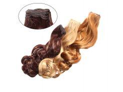 Искусственные волосы на трессах Изящный завиток 60 см Lady Victory 100г LDV SHW-CR /51-01