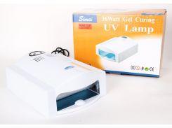 УФ Электронная лампа для ногтей (ультрафиолетовая лампа), Feimei FМ911, 36 W, CVL /42