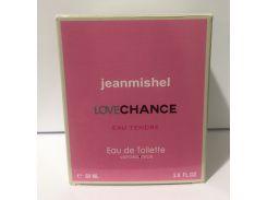 Тестер в подарочной упаковке jeanmishel Love Chance eau Tendre 60 мл