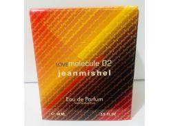 Тестер в подарочной упаковке jeanmishel loveMolecule 02 60 мл