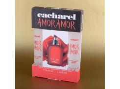 Женская мини парфюмерия Amor Amor Cacharel набор подарочный 2х35 мл (реплика)