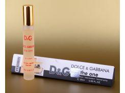 Женская парфюмированная вода с феромонами Dolce&Gabbana The One 20 ml (в треугольнике) (реплика)