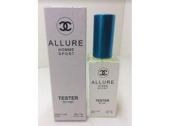 Chanel Allure Homme Sport парфюм тестер 60 ml (реплика)