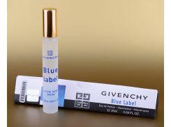 Парфюмированная вода с феромонами Givenchy pour Homme Blue Label 20 ml (в треугольнике) (реплика)